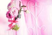 wedding flowers soft focus — Stock Photo