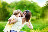 Happiness - mother with her child — Stock Photo