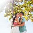 Stock Photo: Romantic wedding on the beach, bali