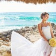 Romantic wedding on the beach, bali — Stock Photo #26365577