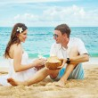 Stock Photo: Couple oa a beach