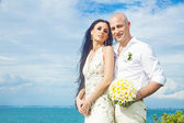 Wedding on the beach - bali — Stock Photo