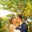 Wedding in the park or forest — Stockfoto