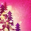 Glamorous pink winter background — Stock Photo