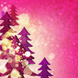 Stock Photo: Glamorous pink winter background