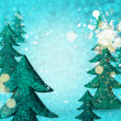 Christmas winter background — Stock Photo
