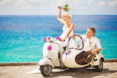 Wedding in bali — Stock Photo