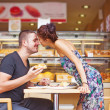 Couple have lunch — Stock Photo #41185191