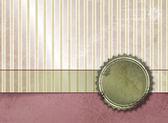 复古条纹的背景 — 图库照片
