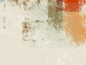 Abstract retro wallpaper background - grunge style 70s — 图库矢量图片