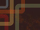 ретро линии фон — Cтоковый вектор