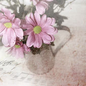 Vintage flowers — Stock Photo