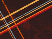 Retro background lines — Stock Vector