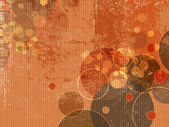 Abstract grunge background with circles and dots — 图库矢量图片