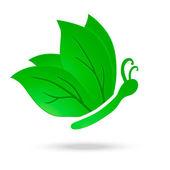 生态蝴蝶 — 图库矢量图片