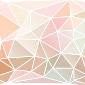 Triángulos abstractos fondo — Vector de stock