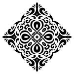 Tribal tatto square shape - Vector Illustration — Stock Vector #50688143