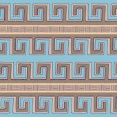 民族の装飾的な織物のシームレスなパターン — ストックベクタ