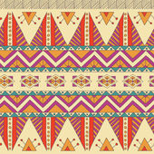 Ethnic ornamental textile seamless pattern — Stock Vector