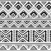 Ethnic ornamental textile seamless pattern — Stock Vector