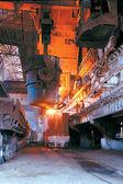 Metal casting — Stock Photo