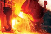 Fundição de aço — Foto Stock