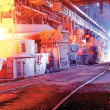 Stock Photo: Steel works