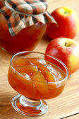 Apple jam. — Stock Photo