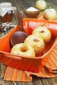 Bakade äpplen — Stockfoto