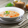 Lentil soup with vegetables — Stock Photo #34484999