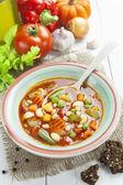 浓菜汤 — 图库照片