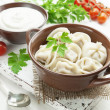 Dumplings with meat — Stock Photo #41569609