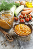 Vegetable spread — Stock Photo