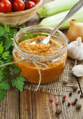 Vegetable spread  — Stockfoto