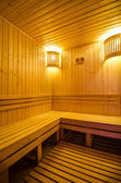 Wellnes and Spa, sauna — Stock Photo