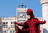 Mask at the Carnival of Venice — Stock Photo