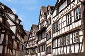 Old houses in Strasbourg — Stock Photo