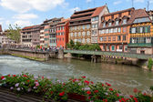 Old town of Strasbourg called La Petite France, Strasbourg — Stock Photo