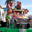 Stock Photo: Carnival procession in Nice, France