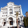 Cathedral  Saint Nicholas of Monaco — Stock Photo