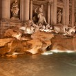 Stock Photo: Trevi Fountain (Fontandi Trevi) by night, Rome