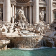 Trevi Fountain (Fontana di Trevi) in Rome, Italy, — Stock Photo