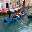 Small side canal, Venice, Italy — Stock Photo
