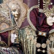 Carnival masks, Venice, Italy — Stock Photo