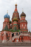St Basils Cathedral on Red Square, Moscow, Russia — Stock Photo