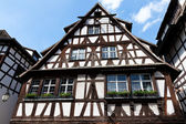 Traditional houses in Strasbourg — Stock Photo