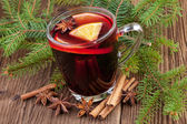 Christmas mulled wine — Foto Stock