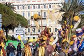 Carnaval de niza en costa azul — Foto de Stock