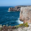 Stock Photo: Rocky Coast of Portugal near Sagres