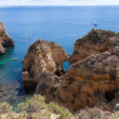 Stock Photo: Algarve coast near Lagos, Portugal